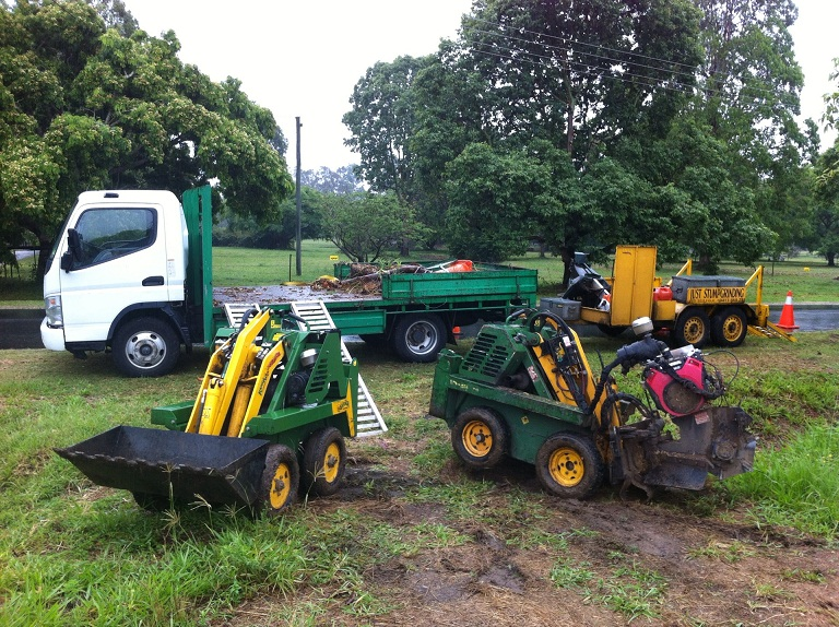 Brisbane stump grinding machines