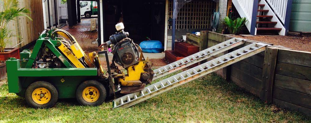 Brisbane Stump grinding machine