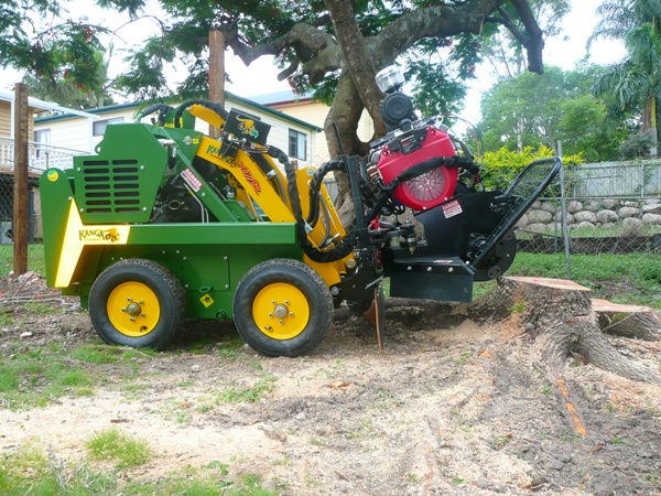 Brisbane stump grinding machine
