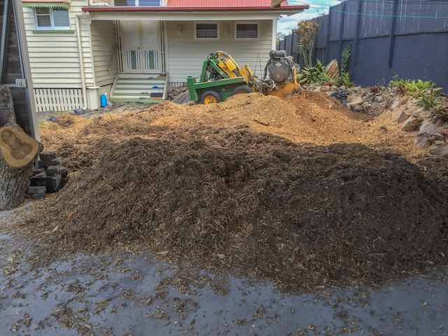 Tree Stump Mulch Price Page