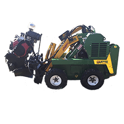 Large Stump grinder